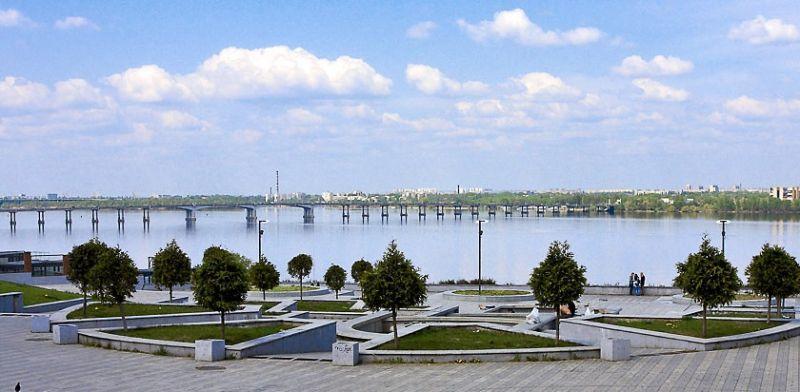 Смотровая площадка парка Шевченко Днепр