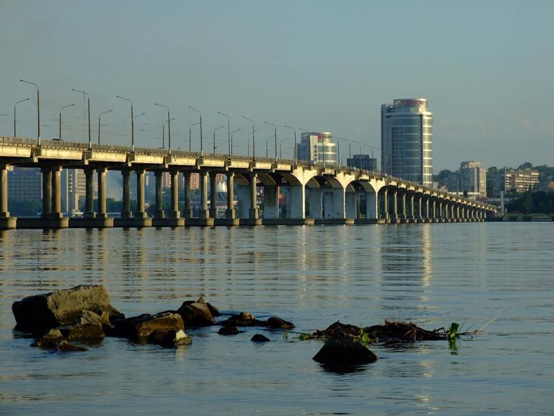 Центральный (Новый) мост днепр
