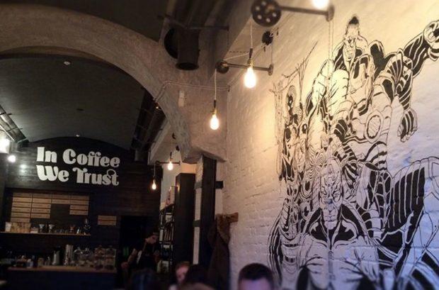 днепр кофейни