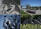 Скамья влюбленных и Дерево счастья Днепр