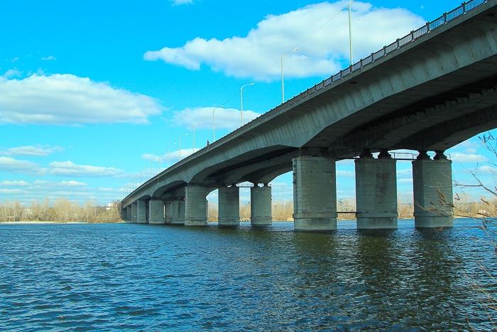 Кайдайский мост Днепр