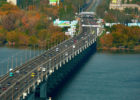 Кайдайский мост в Днепропетровске