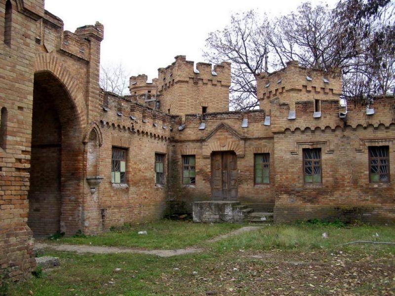 Замок Попова Васильевка