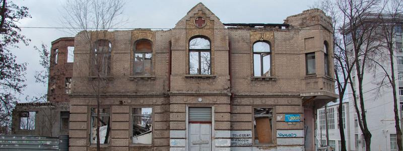 Заброшенная больница  на улице Короленко