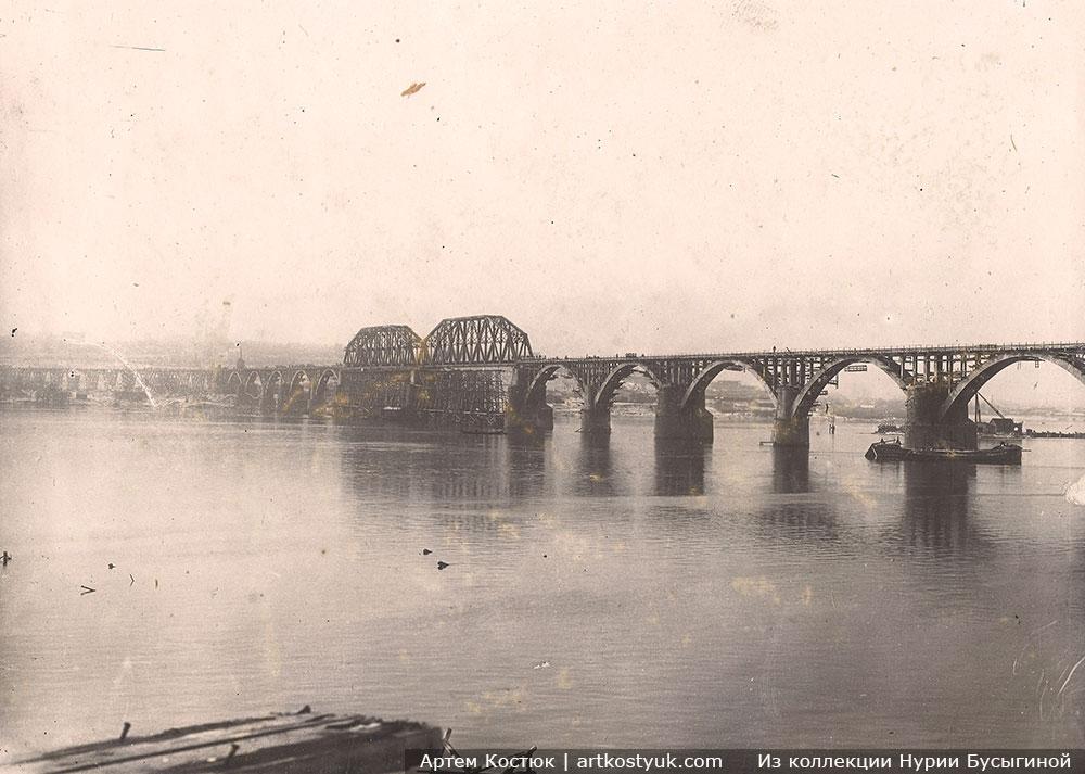 Строительство Мерефо-Херсонского Моста Днепр