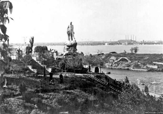 Парк Шевченко, Днепр, старое фото