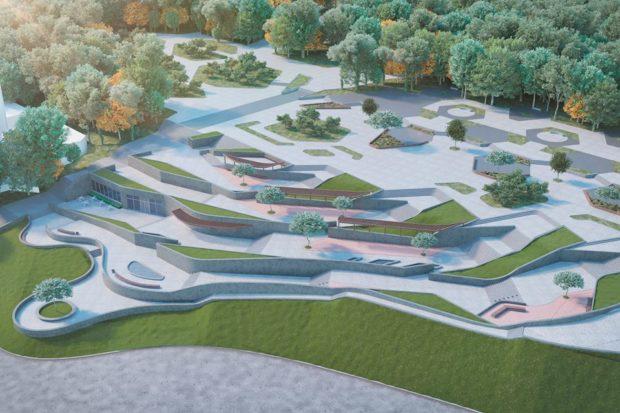 Планы по реконструкции Парка Шевченко