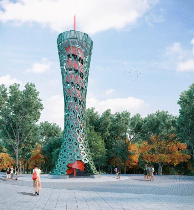 План реконструкции Парка Шевченко