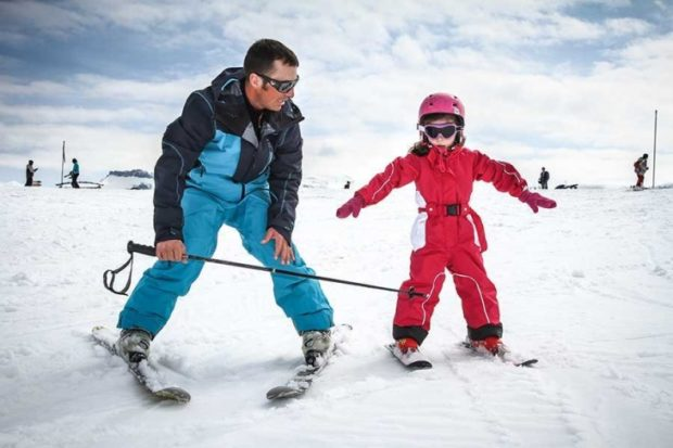 Днепр_катание на лыжах