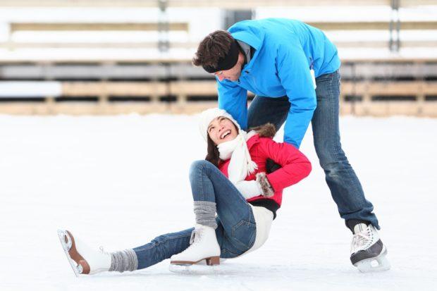 Где в Днепре покататься на коньках