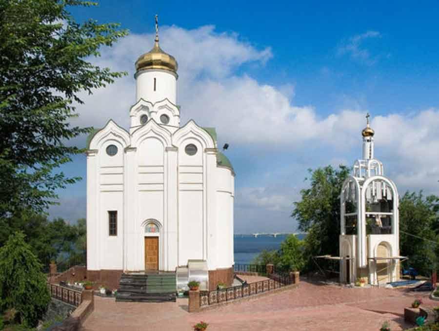 Свято-Николаевский храм на Монастырском острове, Днепр